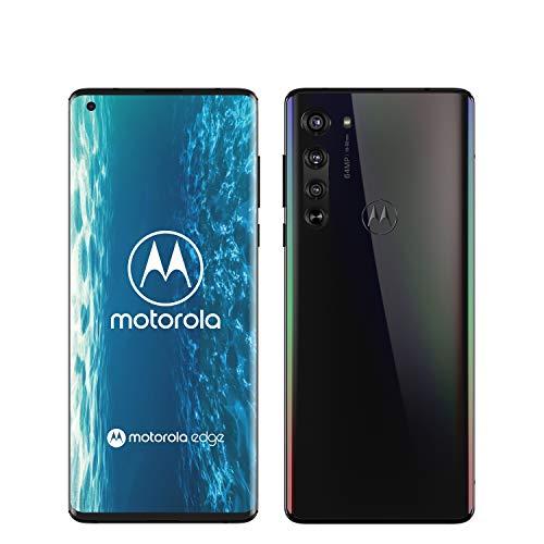 "Smartphone 6.7"" Motorola Edge 5G - full HD+, OLED, SnapDragon 765G, 6 Go de RAM, 128 Go, 64 Mpix, noir"