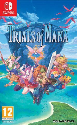 Trials of Mana sur Nintendo Switch (via retrait magasin)