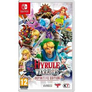 Hyrule Warriors Definitive Edition Nintendo Switch (Via 39.96€ Carte Fidélité)