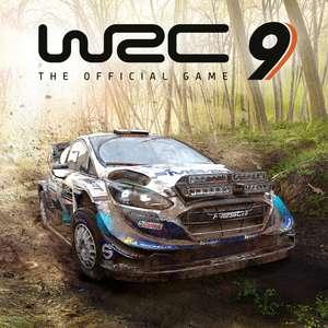 WRC 9 FIA World Rally Championship sur PS4 et PS5 (Dématérialisé - 20.99€ pour les abonnés PS+)