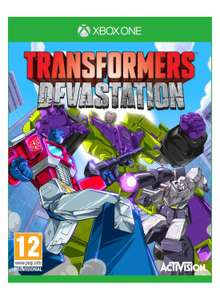 Transformers Devastation sur  Xbox One