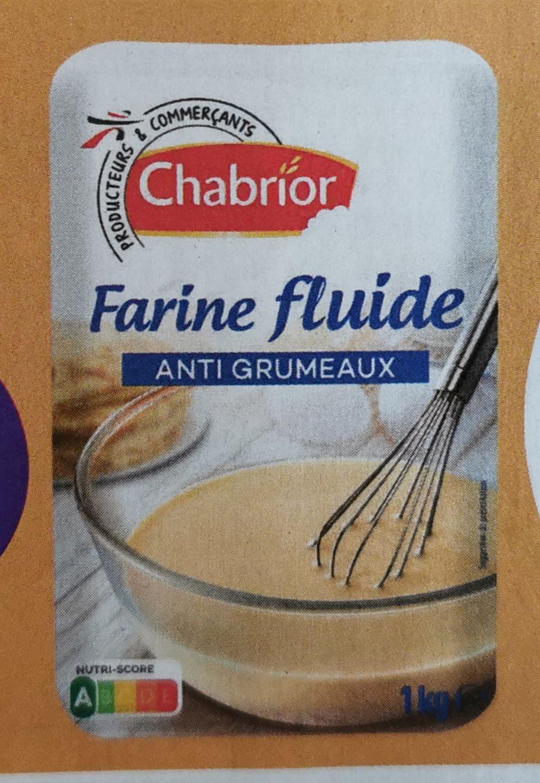 Lot de 3 paquets de 1kg de farine fluide antigrumeaux Chabrior (3x1kg)
