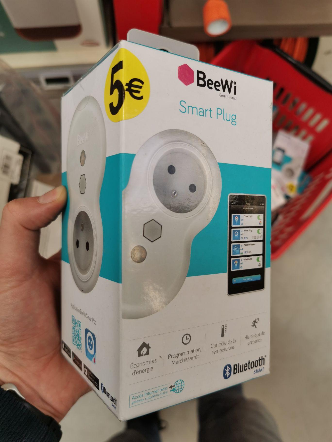 Prise connectée Beewi SmartPlug (Belz 56)