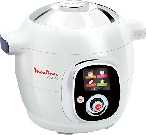 Multicuiseur Moulinex Cookeo CE704110 (100 recettes) - Blanc