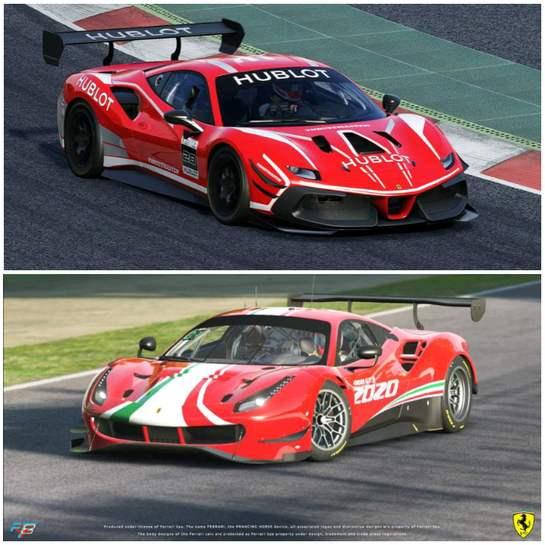 DLC: Ferrari 488 Challenge Evo + Ferrari 488 GT3 Evo 2020 Gratuit pour AssettoCorsa (Dématérialisé - esports-registration.ferrari.com)