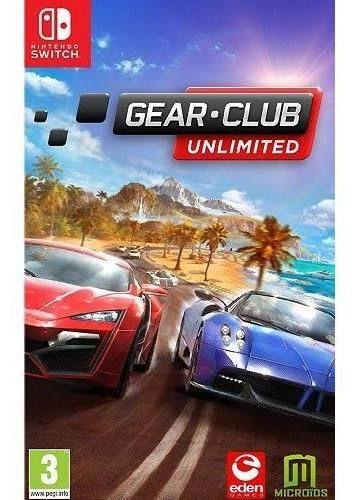 Gear.Club Unlimited sur Nintendo switch (Dématérialisé)