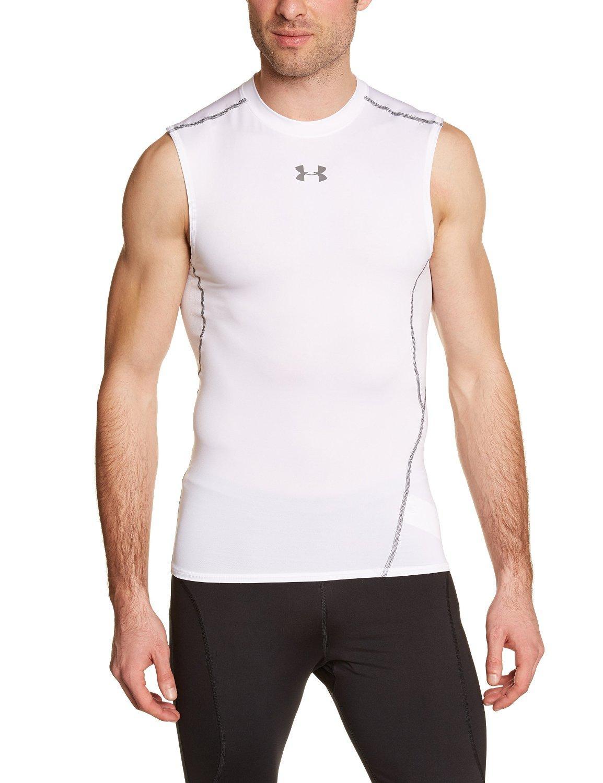 Débardeur Homme Under Armor - Blanc (Taille M à XXL)