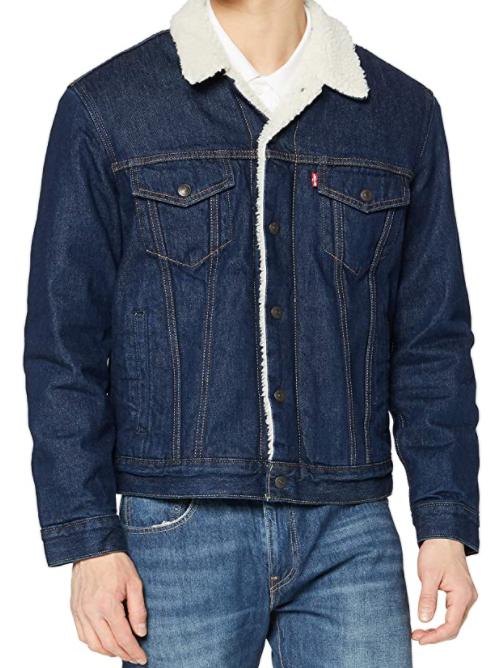 Veste Levi's Sherpa Trucker Jacket pour Homme - Taille XS