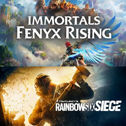 20% de réduction sur le panier pour l'achat de Rainbow Six Siege - Ex: Immortals Fenyx Rising + Rainbow Six Siege sur PC (Dématérialisés)