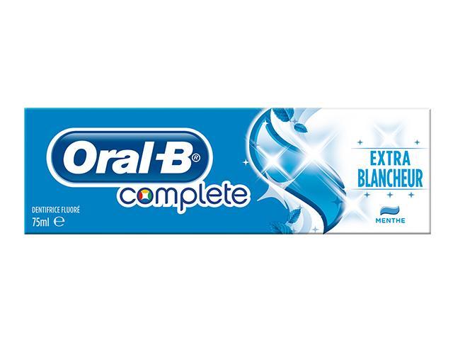 Dentrifrice Oral-B Complete - Extra Fraîcheur