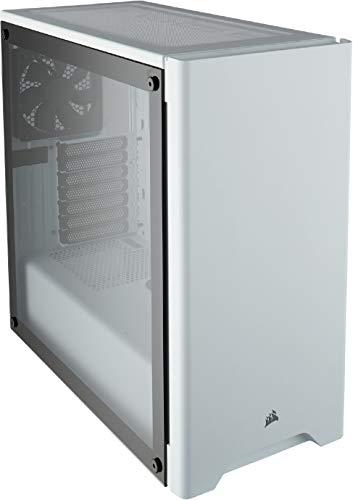 Boîtier PC Corsair Carbide 275R Blanc, fenêtre en verre trempé, ATX