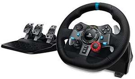 Pack volant + pédalier de jeux vidéo Logitech G29 Driving Force - pour PC et PS4