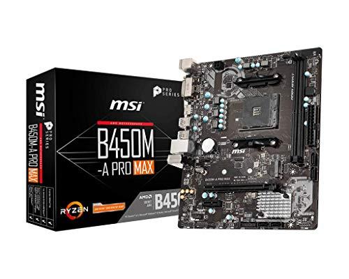 Carte mere MSI B450M-A PRO MAX AM4