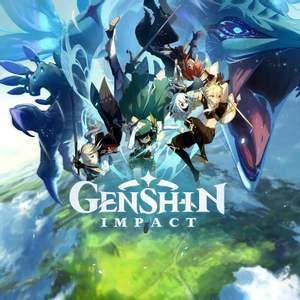 60 primo-gemmes et 10 000 moras pour Genshin impact (Dématérialisé - genshin.mihoyo.com)