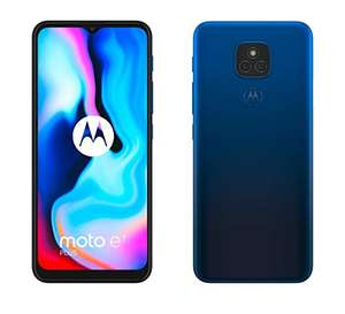 """Smartphone 6.5"""" Motorola Moto E7 Plus - 4 Go RAM, 64 Go, Dual Sim, Navy Blue"""