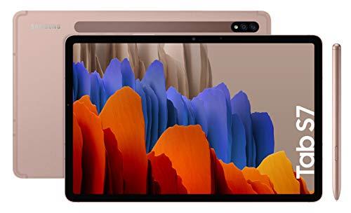 """Tablette 11"""" Samsung Galaxy Tab S7 Wifi - Snapdragon 865+, 6 Go RAM, 128 Go, Bronze"""