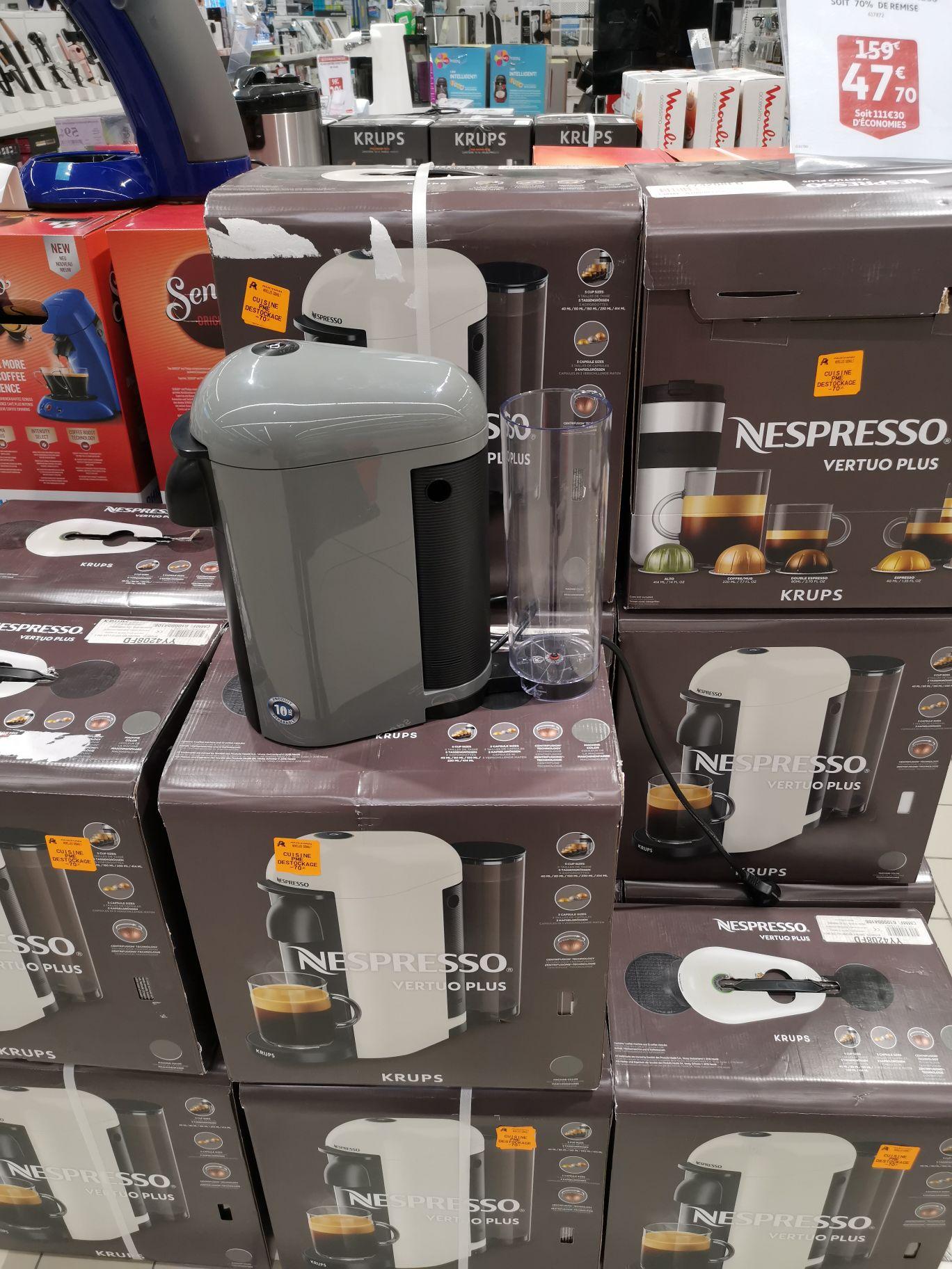 Machine à café Krups Nespresso YY4208 - Auchan noyelles Godault (62)
