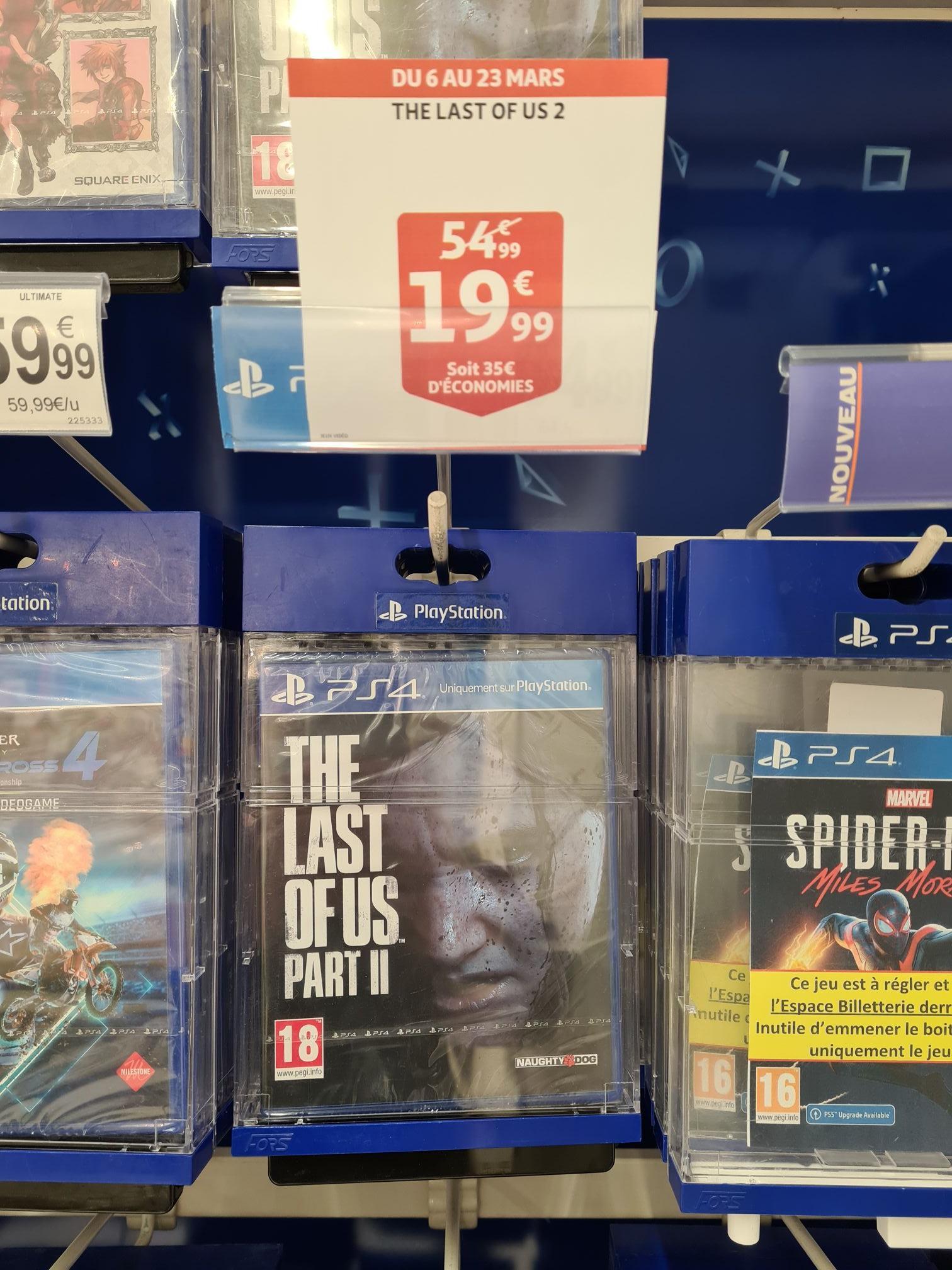 Jeu The last of us II sur PS4 - Auchan auchan à ilkirch graffenstaden (67)