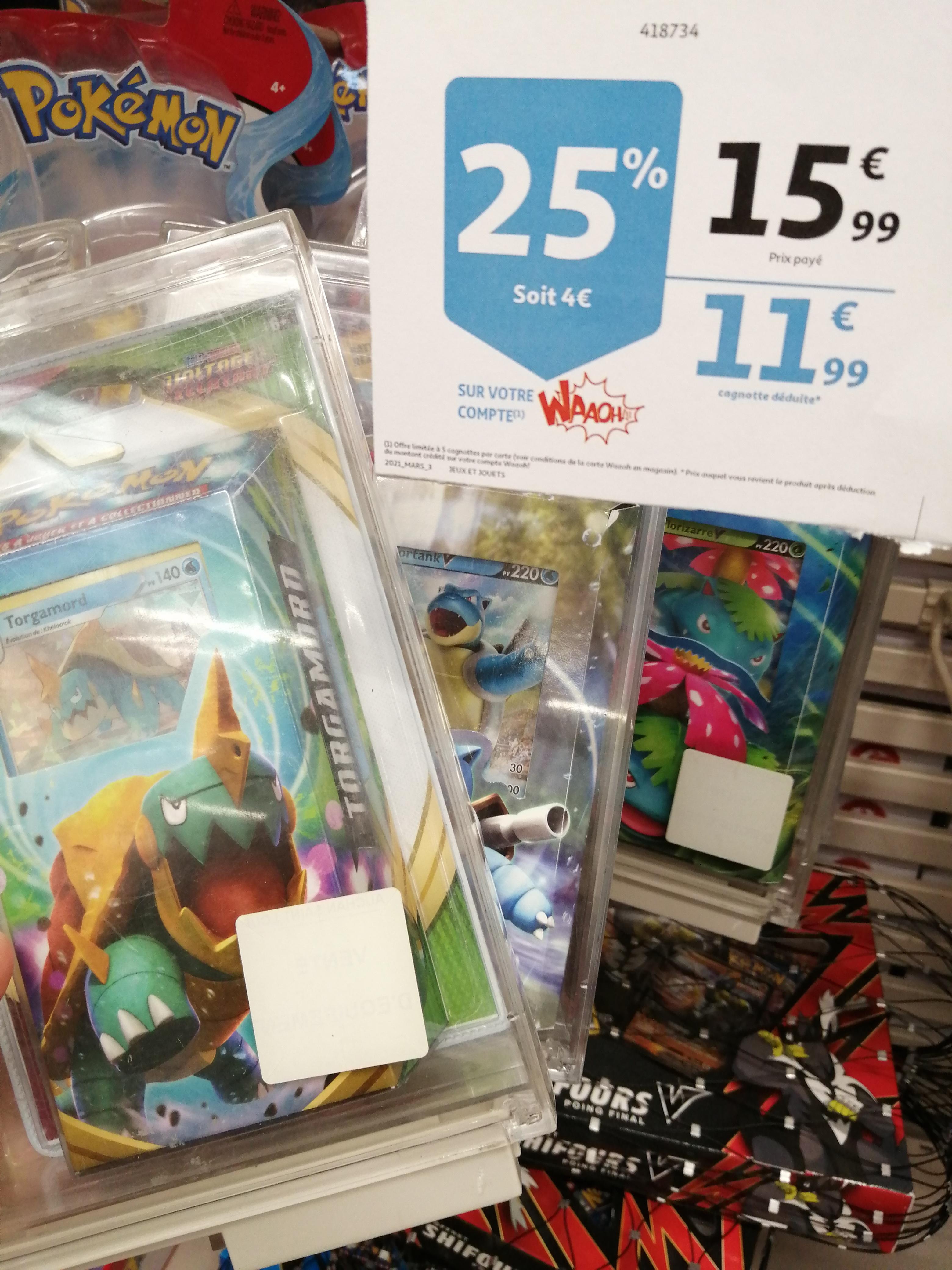 Sélection de Decks Pokémon (via 4€ sur la carte) - Saint Loup (13)