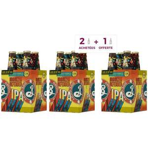 Brooklyn - Defender - Bière IPA - 5,5 % Vol. - 3 packs de 4 x 33 cl
