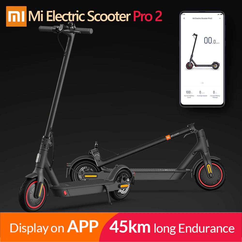 Trottinette électrique Xiaomi Mi Electric Scooter Pro 2 (Via Coupon - Entrepôt Espagne)
