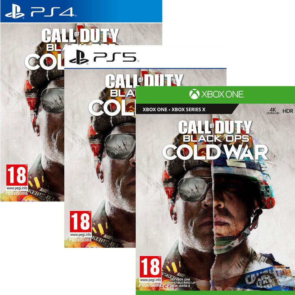 Call of Duty : Black Ops - Cold War sur PS4 & Xbox One (30€ sur PS5 & Xbox Series - Via 30€ sur la carte)