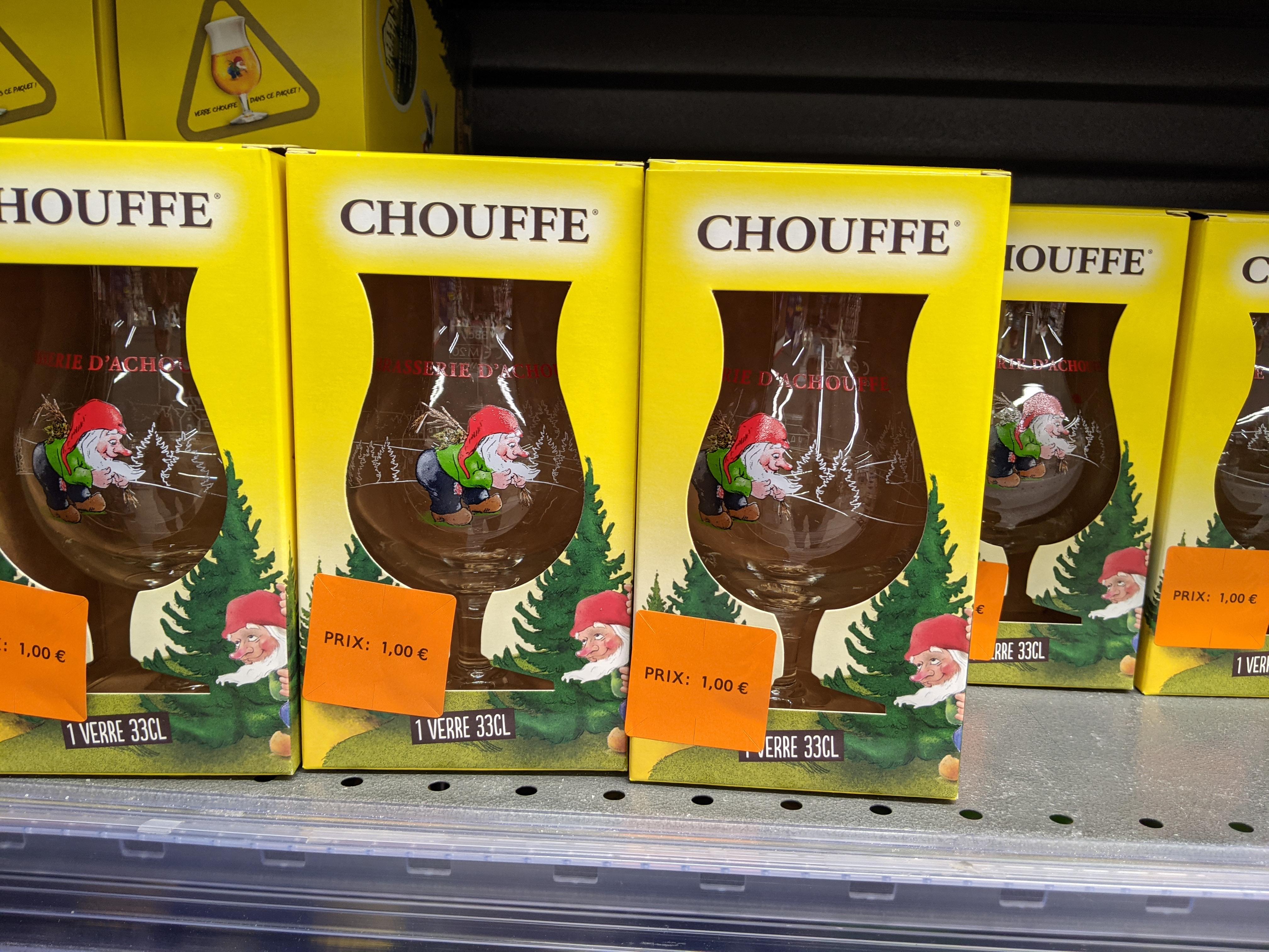 Verre à bière Chouffe 33cl - Bois-Colombes (92)