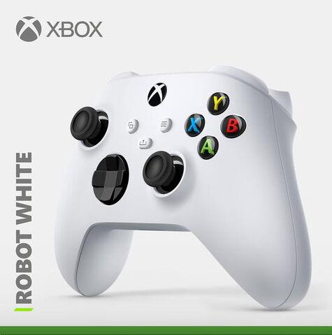 Manette sans-fil Microsoft Xbox - Robot white