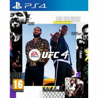 Jeu UFC 4 sur PS4 ou Xbox