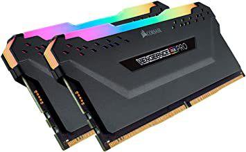 Kit mémoire Ram DDR4 Corsair vengeance RGB pro 32 Go (2x16 Go) - 3600Mhz (vendeur tiers)