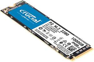 SSD interne NVMe Crucial P2 (DRAMless - TLC 3D) - 1 To