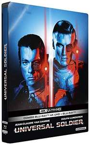 Film Universal Soldier- Édition boîtier SteelBook (4K Ultra HD + Blu-Ray)