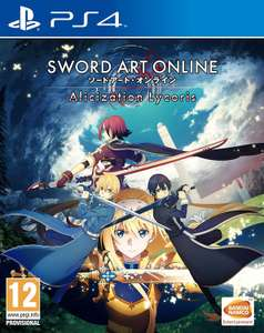 Sword Art Online Alicization Lycoris sur PS4