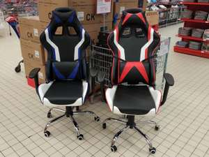 Chaise Gamer Factory - Rouge ou Bleu (Lille Lomme - 59)