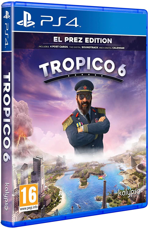 Tropico 6 - El Prez Edition sur PS4 (Vendeur tiers)