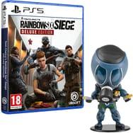 Rainbow Six Siege Deluxe Edition + Figurine Chibi (Smoke ou IQ) sur PS5 ou Xbox Series X