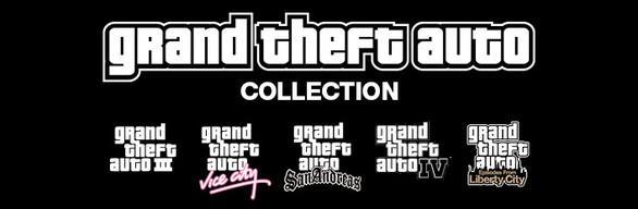 """Pack """"in""""complet Grand Theft Auto sur PC (Dématérialisé)"""