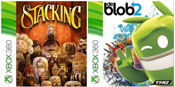 Jeux de Blob 2, Stacking & Costume Quest gratuits sur Xbox One & Series X/S (Dématérialisé - Store Japonais)