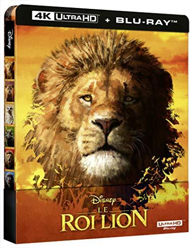 [Prime] Coffret Blu-ray 4K UHD + Blu-Ray Le Roi Lion - Édition boîtier SteelBook (Vendeur tiers)