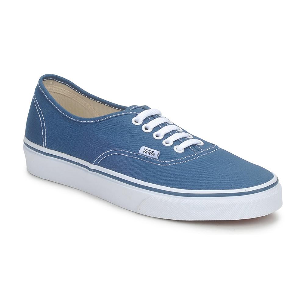 Baskets basses Vans Ua Authentic - Bleu, Tailles 35 à 42.5