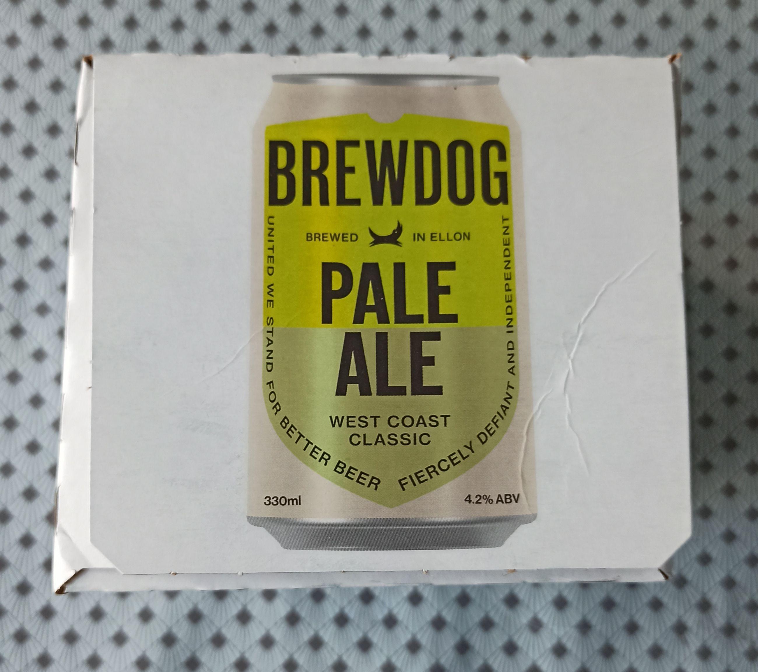 Pack de 4 bières Brewdog Pale Ale - 4x33 cl - Mondeville (14)