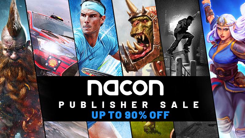 Sélection de jeux Nacon Publisher Sale 2021 en promotion (Dématérialisé)