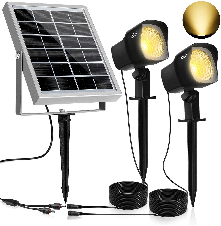Lampe solaire d'extérieur CLY - 3000K, Blanc chaud (Vendeur tiers)