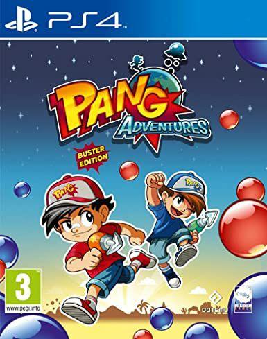 Jeu Pang Adventures sur PS4 (Dématérialisé)