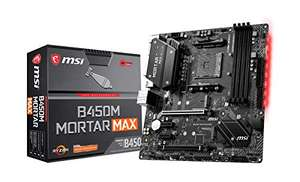 Carte mère MSI B450M Mortar Max - AM4, Micro ATX