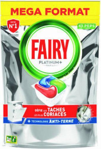 Capsules lave-vaisselles Fairy - 43 Lavages (via BDR 2€)