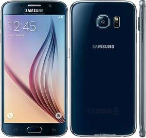 "Smartphone 5.1"" Samsung Galaxy S6 G920F 32 Go Noir - reconditionné , via l'application mobile"