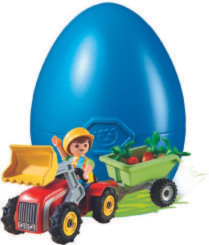 Œufs de Pâques Playmobil (plusieurs modèles)