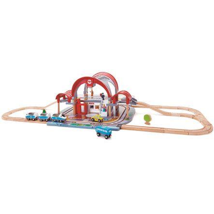 Jouet Circuit train Hape E3725