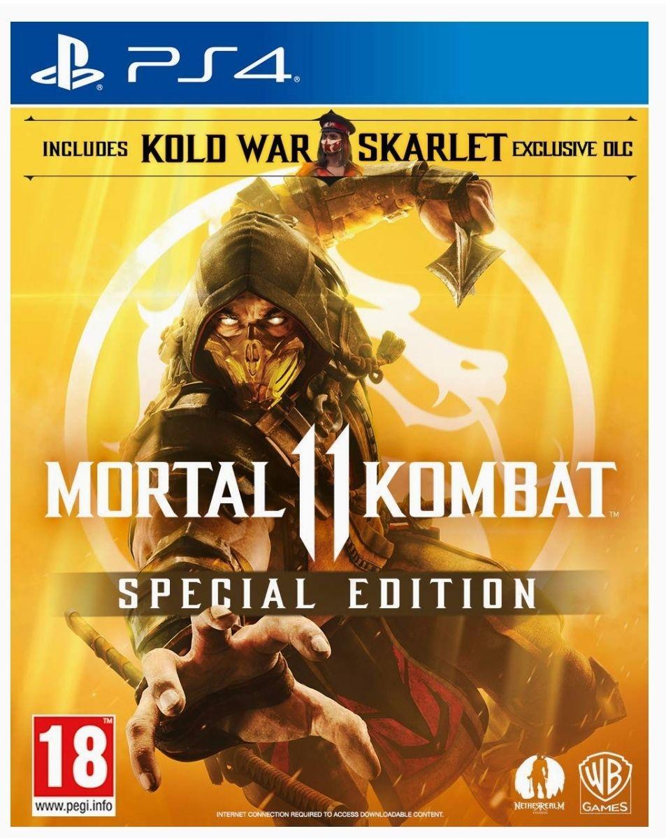 Jeu Mortal Kombat 11 Special Edition sur PS4
